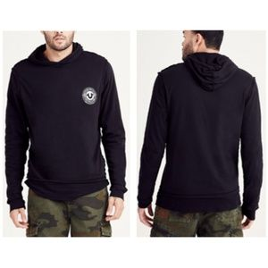 True Religion Double Layer Pullover Hoodie